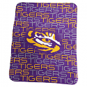 "LSU Tigers Patterned Classic Fleece Blanket 50"" x 60"" - Purple"