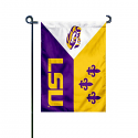 """LSU Tigers Acadian 13"""" x 18"""" Garden Banner - Purple, Gold and White"""