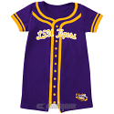 LSU Tigers Colosseum INFANT Baseball Jersey Onesie - Purple