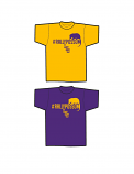 LSU Tigers Official  #rallypossum T-Shirt by Bayou - Gold and Purple