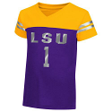 LSU Tigers Colosseum Toddler Nickel Foil Tee - Purple & Gold