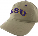 LSU Tigers The Game Toddler Snapback Relaxed Arch Hat - Khaki
