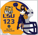 LSU Tigers 123 My First Counting Book by Brad M. Epstein