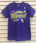 LSU Tigers Baseball Regional T-Shirt - Purple
