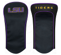 LSU Tigers Golf Driver Cover - Black