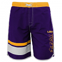 LSU Tigers Youth Boys Swim Trunk - Purple and Gold